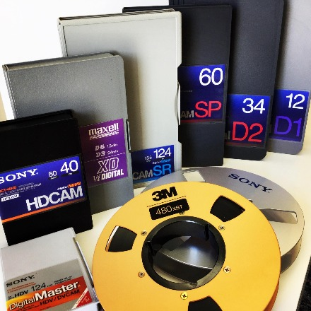 Broadcast and Heritage Tape Conversions and Digitisation Services Oxfordshire