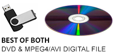 Encoded DVD and USB