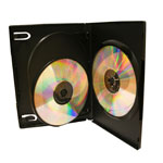 3 way dvd cases 14mm