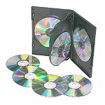 4 way dvd cases 14mm